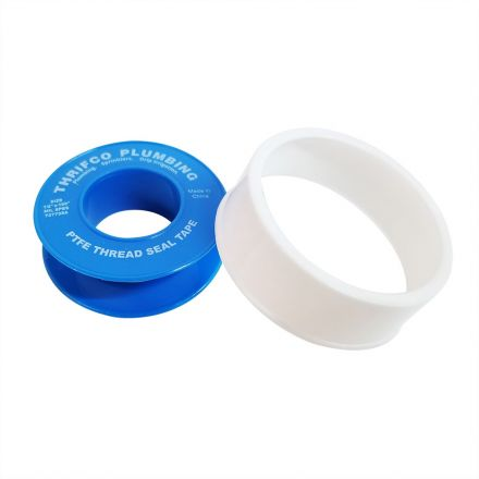Thrifco Plumbing 4400155 1/2 Inch x 100 Inch PTFE Thread Sealing Tape