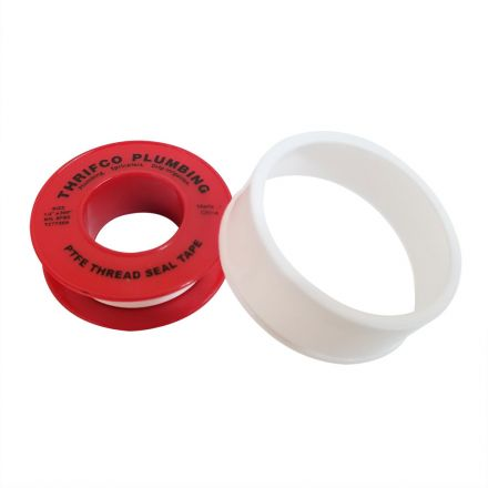 Thrifco Plumbing 4400156 1/2 Inch x 300 Inch PTFE Thread Sealing Tape