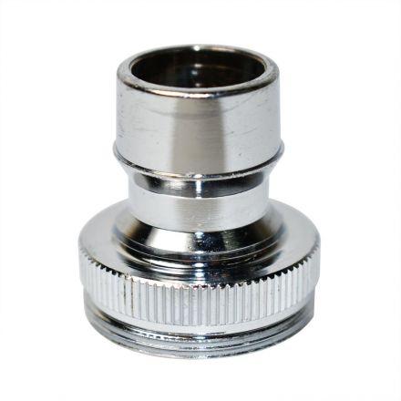 Thrifco Plumbing 4400159 Dual Thread Dishwasher Snap Nipple Lead Free Brass - 1.5 GPM