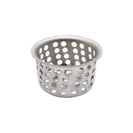 Thrifco Plumbing 4400253 1 Inch Basin Strainer Basket Fits Most Lavatory Drains