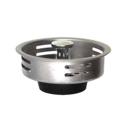 Thrifco Plumbing 4400258 Economy Stainless Steel Strainer Basket