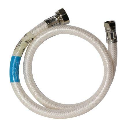 Thrifco Plumbing 4400426 3/8 Inch Comp. x 1/2 Inch FIP x 12 Inch Long Flexible Braided PVC Riser