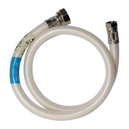 Thrifco Plumbing 4400482 1/2 Inch Comp x 1/2 Inch FIP Flexible Braided PVC 24 Inch Extended Riser