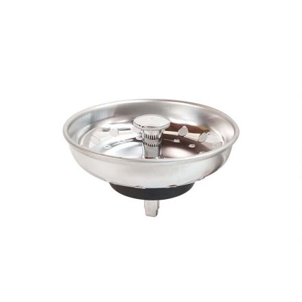 Thrifco Plumbing 4400452 3-1/2 Inch Stainless Steel Strainer Basket