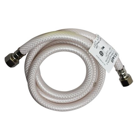 Thrifco Plumbing 4400453 3/8 Inch Comp x 3/8 Inch Comp Flexible Braided PVC 36 Inch Extended Riser