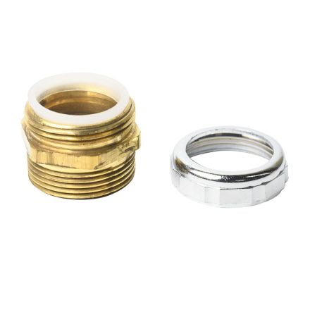 Thrifco Plumbing 4400659 1-1/4 Inch M. Waste Connector