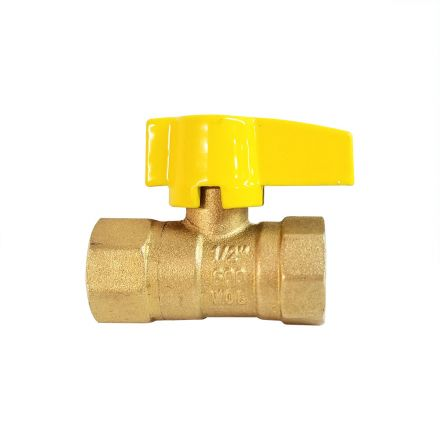 Thrifco Plumbing 4400793 1/2 Inch FIP x 1/2 Inch FIP Gas Ball Valve