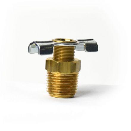 Thrifco Plumbing 4401232 3/8 Inch Drain Cock Valve - #322-C