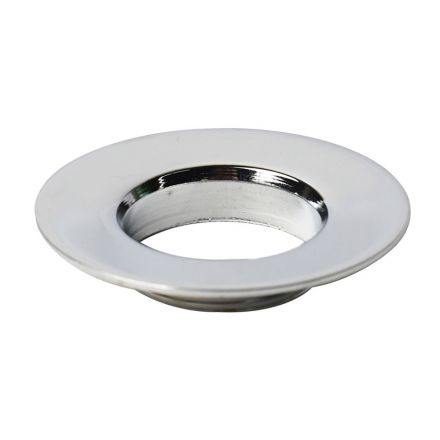 Thrifco Plumbing 4401245 Replacement Lavatory Pop-up Flange - Male (Chrome Plated)