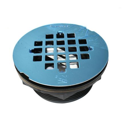 Thrifco Plumbing 4401247 Abs Shower Drain With