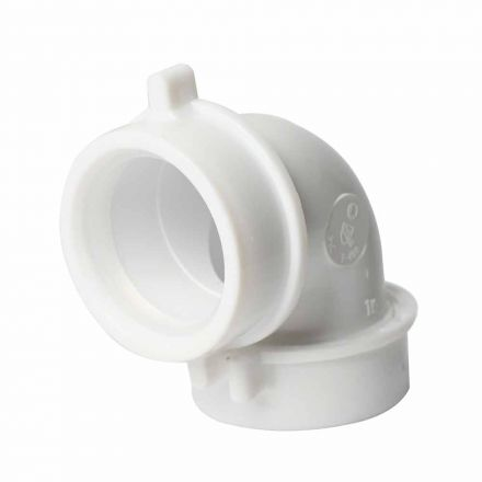 Thrifco Plumbing 4401260 1-1/2 Inch PVC Slip Joint 90° ELBOW