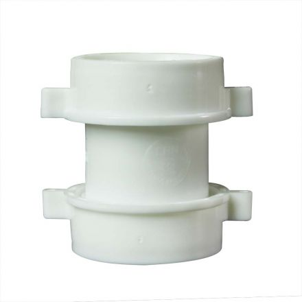 Thrifco Plumbing 4401262 1-1/2 Inch PVC Slip Joint Coupling