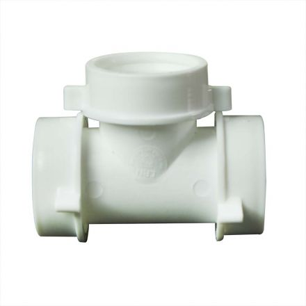 Thrifco Plumbing 4401263 1-1/2 Inch PVC Slip Joint TEE