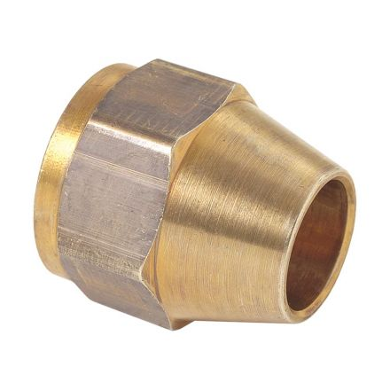 Thrifco Plumbing 4401303 41-F 5/16 Inch Brass Flare Nut 2/Pack