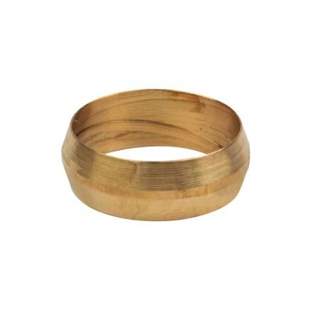 Thrifco Plumbing 4401380 60-C 7/8 Inch Lead-Free Brass Compression Sleeve