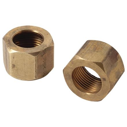 Thrifco Plumbing 4401381 61-C 7/8 Inch Lead-Free Brass Compression Nut