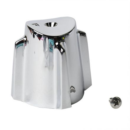 Thrifco Plumbing 4401497 Price Pfister Large Contempra Tub Shower Faucet Handle - Chrome Metal - DIVERTER
