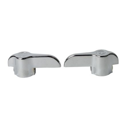 Thrifco Plumbing 4401572 Vice Grip Lever Handle H/C Set. Chrome.