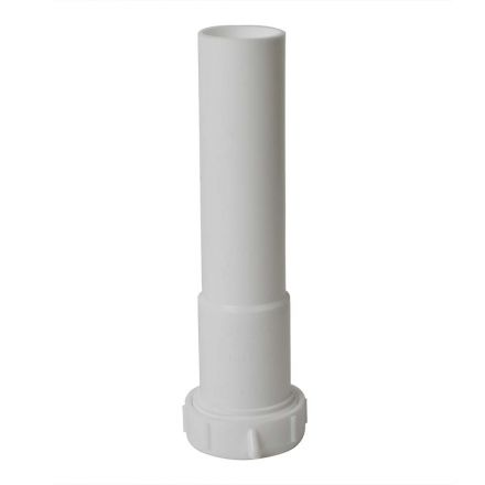 Thrifco Plumbing 4401632 1-1/4 Inch x 12 Inch Long Slip Joint Extenstion Tube with Nut & Washer
