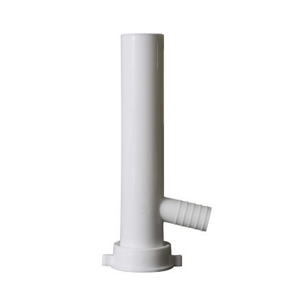 Thrifco Plumbing 4401636 1-1/2 Inch x 8 Inch Direct Connect Plastic Tubular With 7/8 Inch Branch Tail Piece