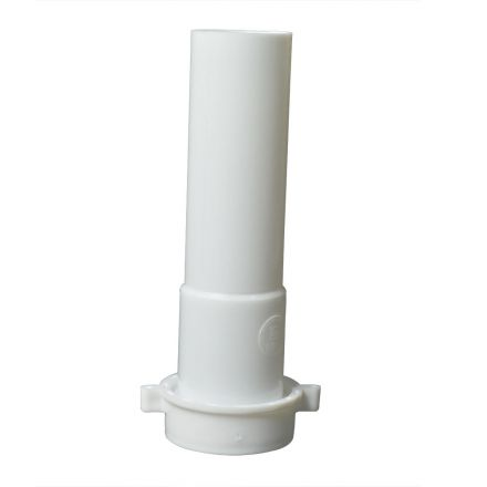Thrifco Plumbing 4401647 1-1/2 Inch x 8 Inch Long Slip Joint Extenstion Tube with Nut & Washer