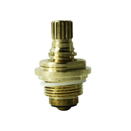 Thrifco Plumbing 4401743 Brass Streamway Stem Unit 20 TPI Gland 17pt - COLD - Fits Streamway 2596 Handle