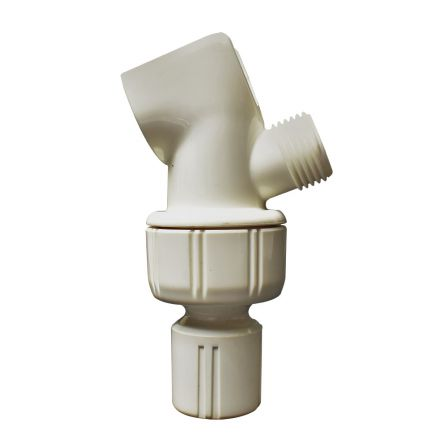 Thrifco Plumbing 4401968 Shower Arm Mount (White)
