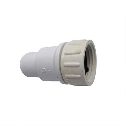 Thrifco Plumbing 4402311 1/2 MIP x 3/4 Female GHT Swivel PVC Adapter