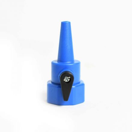 Thrifco Plumbing 4403357 Plastic Sweeper Nozzle with Shut Off Valve