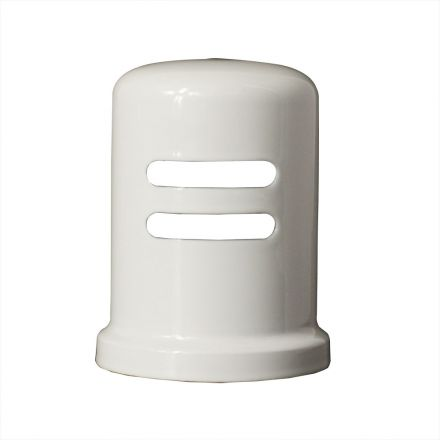 Thrifco Plumbing 4405703 Flanged AGP Cap WHT