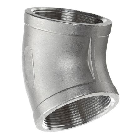 Thrifco Plumbing 9017033 3/4 45 Elbow Stainless Steel - Packaged