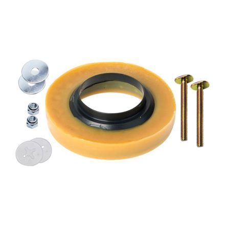 Thrifco Plumbing 4544029 04425 4 Inch X 3 Inch Wax Ring W/Br.Bolts