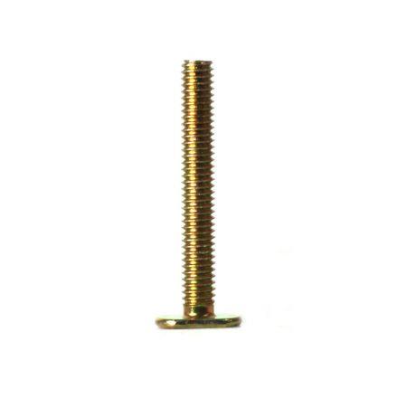 Thrifco Plumbing 4569099 5/16 X 3 BRASS CLOSE CPL BOLT