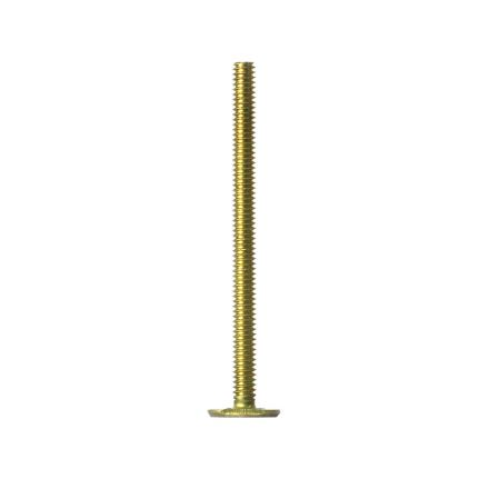 Thrifco Plumbing 4569107 1/4 X 3 1/2 CLOSET BOLT BRASS