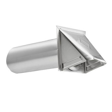 Thrifco Plumbing 4908071 4 Inch Aluminum Dryer Vent Hood