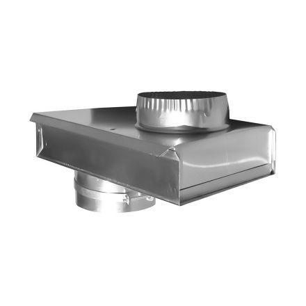 Thrifco Plumbing 4908075 0-5 Inch Adjustable Dryer Vent Zero Periscope