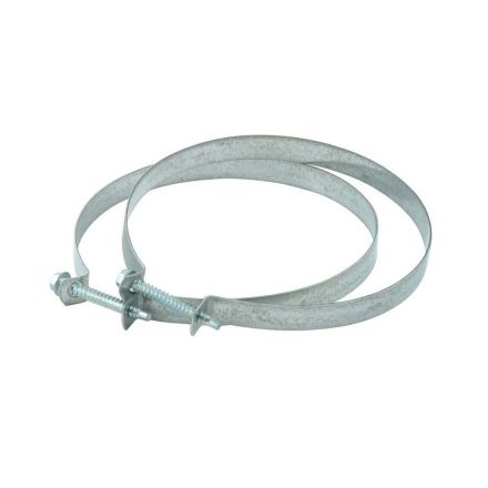 Thrifco Plumbing 4908078 4 Inch Dryer Ducting Clamp (Screw Type)