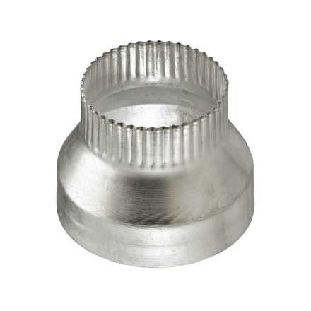 Thrifco Plumbing 4908100 4 Inch x 3 Inch Aluminum Reducer