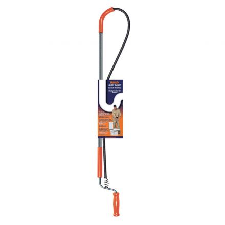 Thrifco Plumbing 5006035 3J Heavy-Duty Closet Auger Snake – 3 ft