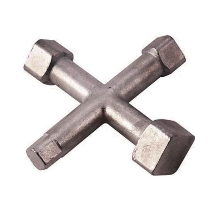 Thrifco Plumbing 5110017 4 Way Countersink Cleanout Plug Wrench