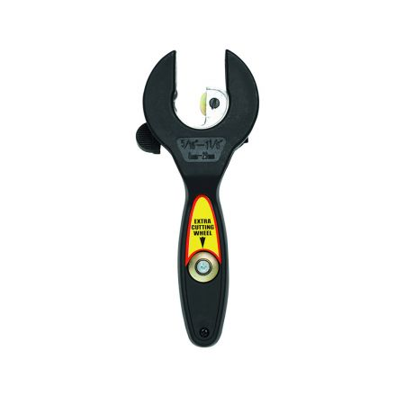 Thrifco Plumbing 5120004 #133 1-1/8 Inch E-Z Ratcheting Tubing Cutter With Extra Cutting Wheel