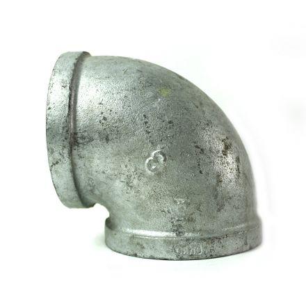 Thrifco Plumbing 5216002 3 Inch Galvanized Steel 90 Elbow
