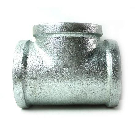 Thrifco Plumbing 5216022 3 Inch Galvanized Steel Tee