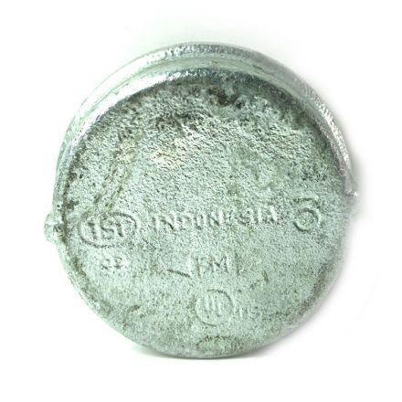 Thrifco Plumbing 5216031 3 Inch Galvanized Steel Cap