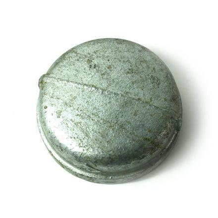 Thrifco Plumbing 5216032 4 Inch Galvanized Steel Cap