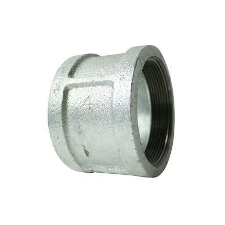 Thrifco Plumbing 5216037 4 Inch Galvanized Steel Coupling