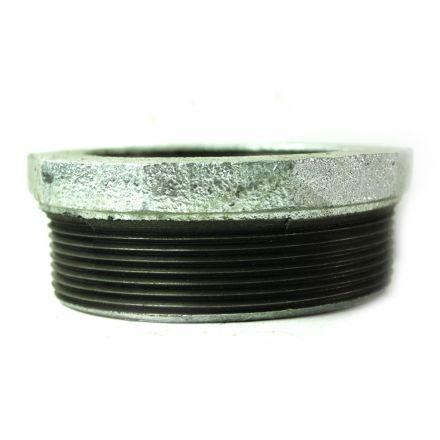 Thrifco Plumbing 5216059 4 Inch x 3 Inch Galvanized Steel Bushing