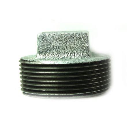 Thrifco Plumbing 5216060 2-1/2 Inch Galvanized Steel Plugs