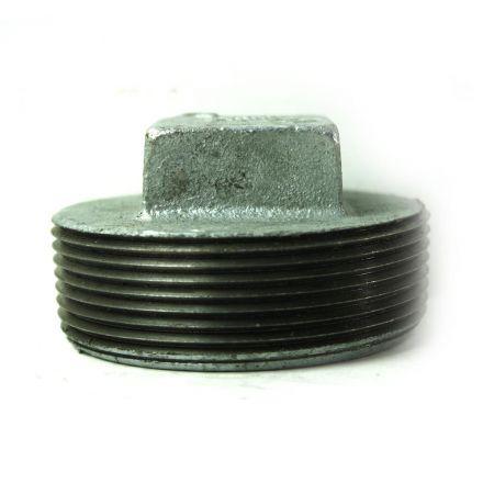Thrifco Plumbing 5216061 3 Inch Galvanized Steel Plug