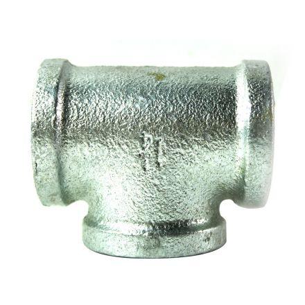 Thrifco Plumbing 5217068 1-1/4 Inch Galvanized Steel Tee